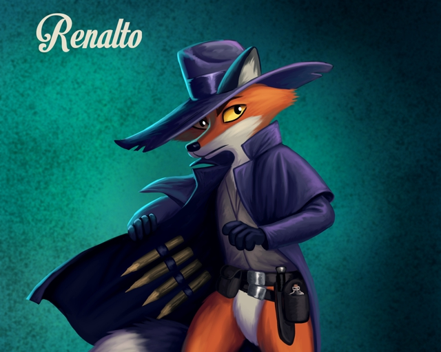 Renalto, the adventurous fox