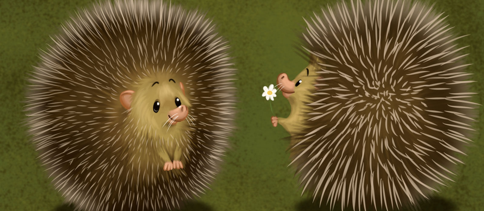 Herik, our loving hedgehog
