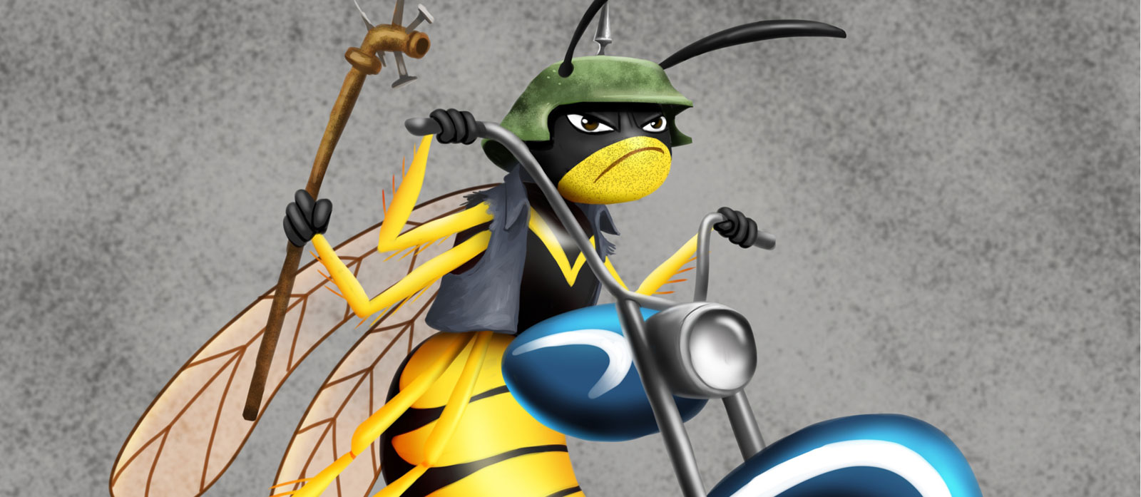 The biker gang Killer Bee